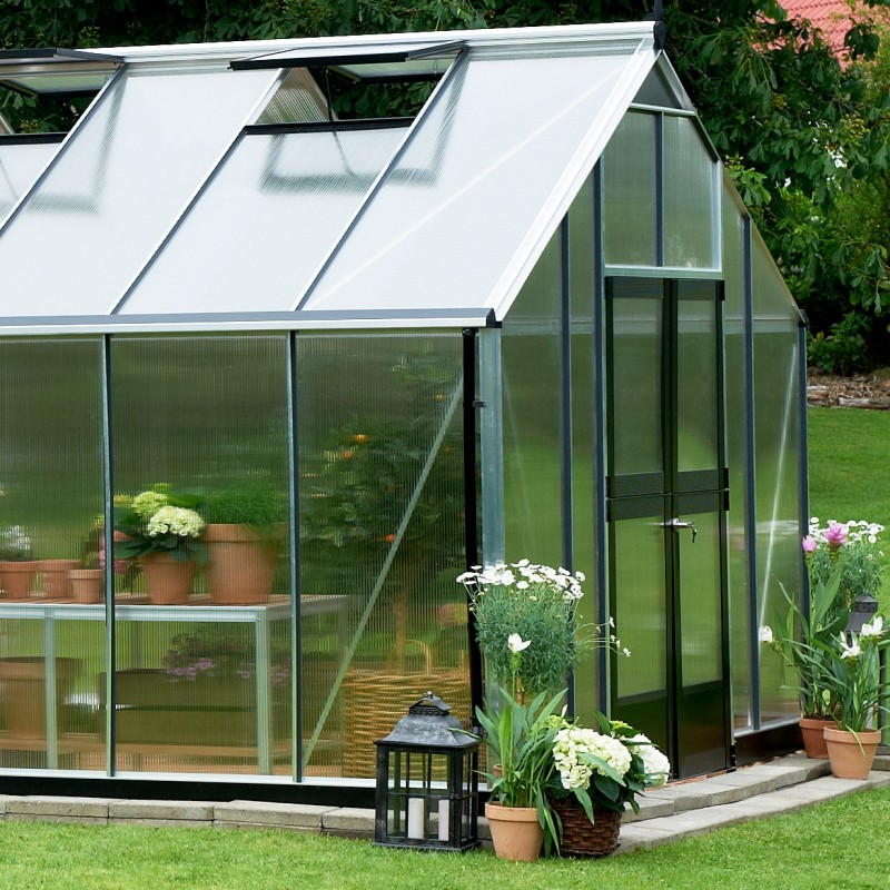 serre de jardin 18 8m en polycarbonate gardener juliana. Black Bedroom Furniture Sets. Home Design Ideas