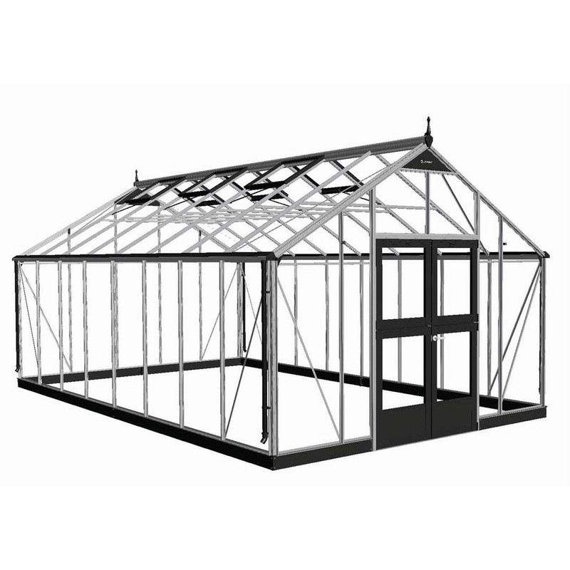serre de jardin 21 4m en polycarbonate gardener juliana. Black Bedroom Furniture Sets. Home Design Ideas