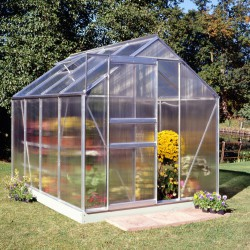 Serre de jardin 5m² en polycarbonate 4mm Popular - Halls