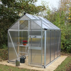 Serre de jardin 4,97m² en polycarbonate 6mm BURFORD - Eden Greenhouses