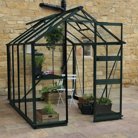serre de jardin 4 97m verre horticole burford verte eden greenhouses. Black Bedroom Furniture Sets. Home Design Ideas