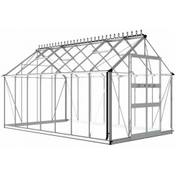 Serre de jardin 11,3m² en verre trempé BLOCKLEY - Eden Greenhouses