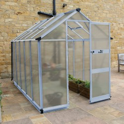 Serre de jardin 6,17m² en polycarbonate 6mm BURFORD - Eden Greenhouses