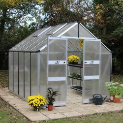 Serre de jardin 8,13m² en polycarbonate BLOCKLEY - Eden Greenhouses