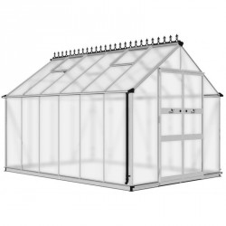 Serre de jardin 9,71m² en polycarbonate BLOCKLEY - Eden Greenhouses