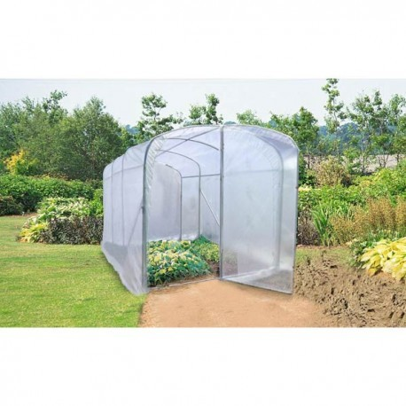 Serre tunnel de culture 9m luna xl for Fabrication serre de jardin