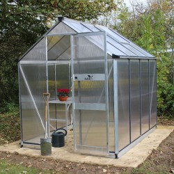 Serre de jardin 3,77m² en polycarbonate 6mm BURFORD - Eden Greenhouses