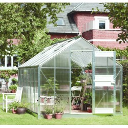 Serre de jardin 12,1m² en polycarbonate 6mm Junior - Juliana